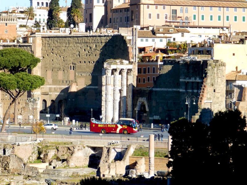 Rome Hop-On-Hop-Off Bus  Guided Catacombs Tour